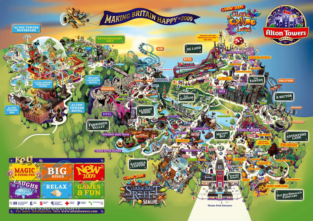 Alton Towers Maps Towers Atlas – TowersStreet   Your premier Alton Towers guide!