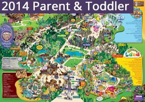 2014 Parent and Toddler Map
