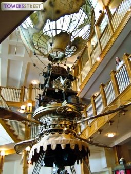 Alton Towers Hotel flying ship