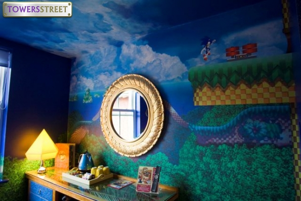 Sonic Room. TowersStreet Gallery   Sonic the Hedgehog Room   Sonic Room   Your