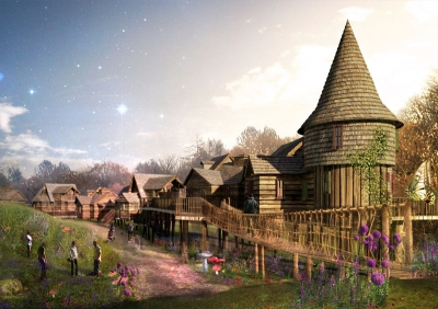 Enchanted Village Concept Art 3