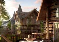 Enchanted Village Concept Art 1
