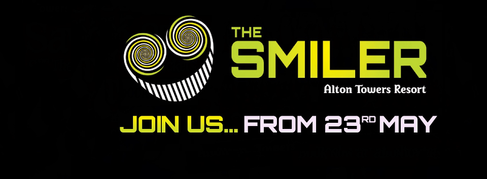 The Smiler opening date confirmed - image courtesy of Alton Towers Resort