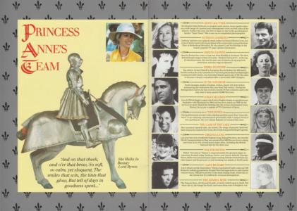 Princess Anne's Team